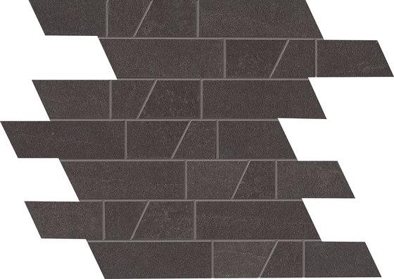Stone Box Muretto Black Ink de EMILGROUP | Mosaïques céramique