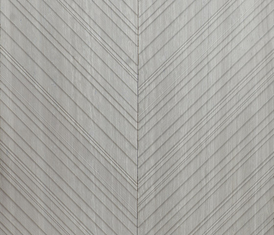 Chevron | Silk Georgette by Salvatori | Natural stone panels