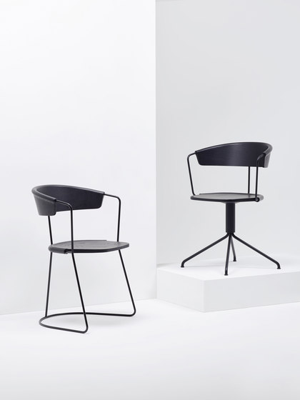 Uncino | MC9 by Mattiazzi | Visitors chairs / Side chairs