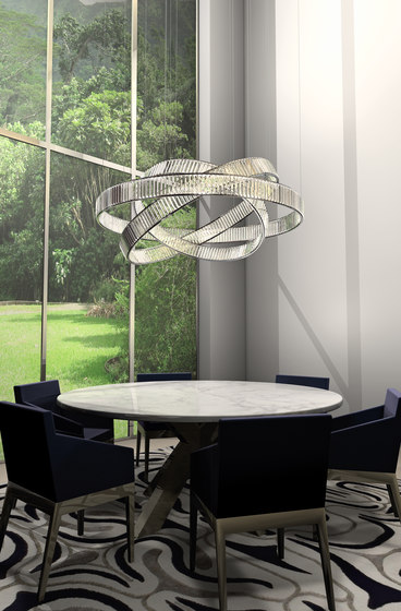 Jewel 3 exlight by Windfall | Suspended lights