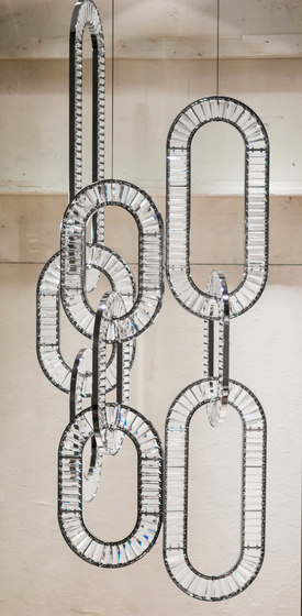 Jewel 4 Bespoke Living by Windfall | Suspended lights