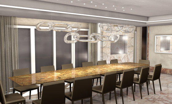 Jewel 4 Bespoke Dining by Windfall | General lighting