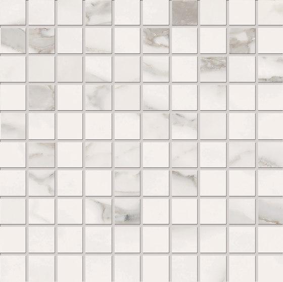Bianco D'Italia Mosaico 3x3 Arabescato de EMILGROUP | Mosaicos de cerámica