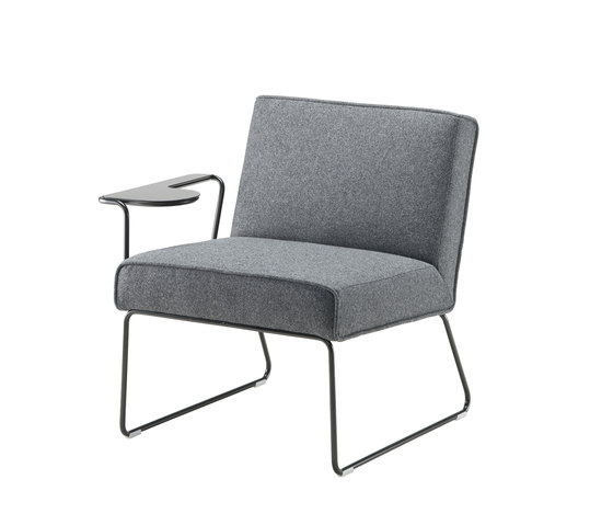 Tere | seat with writing pad by Isku | Armchairs