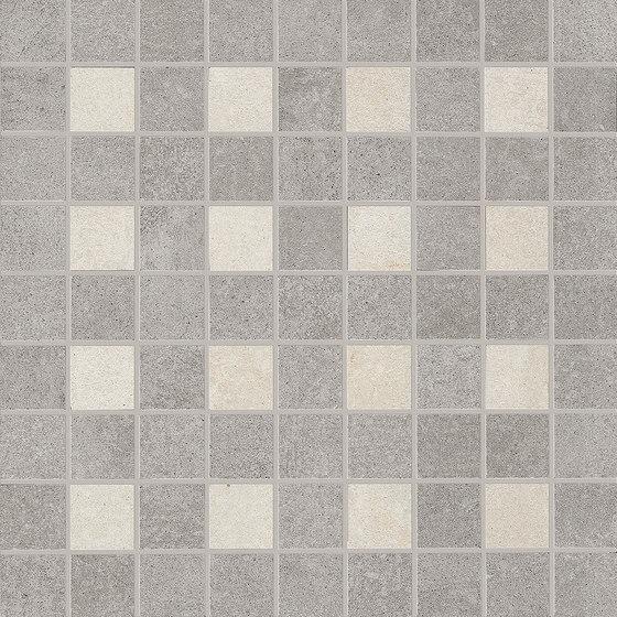 Nr. 21 Mosaicocolors Grey-White de EMILGROUP | Mosaïques céramique
