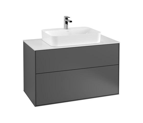 Finion F35100GK Waschtischunterschrank von Villeroy & Boch | Waschtischunterschränke