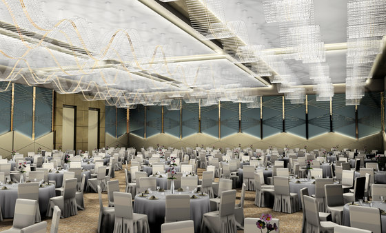 Tubees Waves Bespoke Dining de Windfall   Suspensions
