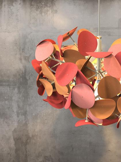 Leaf Lamp Color Pendant by Green Furniture Concept | Suspended lights