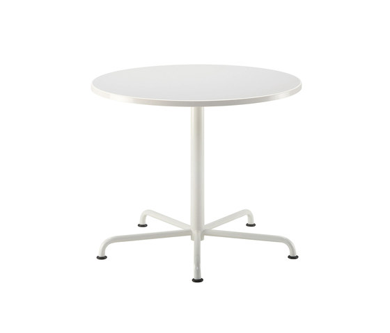 Moni | round general-purpose table by Isku | Bistro tables