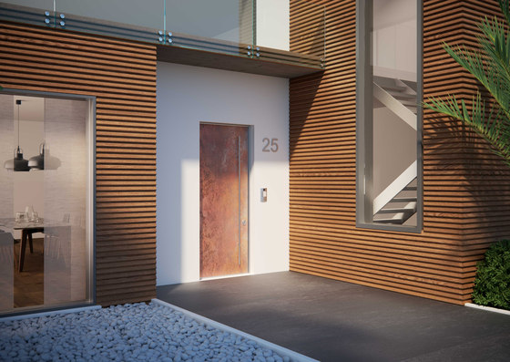 Meccanya - Security Door by Di.Bi. Porte Blindate | Front doors