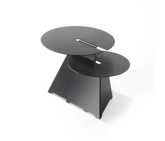 ABRA C01 & C02 di B-LINE   Tavolini impilabili