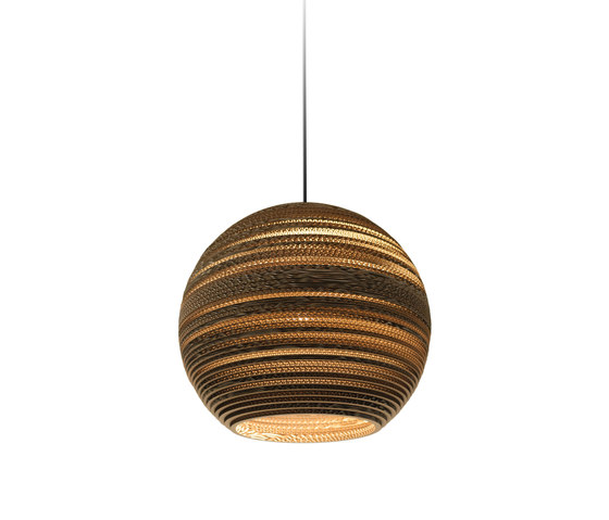 Moon18 Natural Pendant by Graypants | Suspended lights