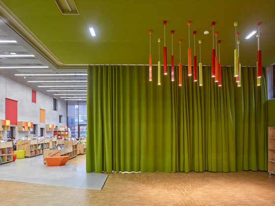 Vibrasto acoustic curtains by Texaa® | Fabric systems