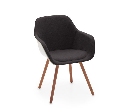Captain Woody's Chair with shell upholstery by extremis | Chairs