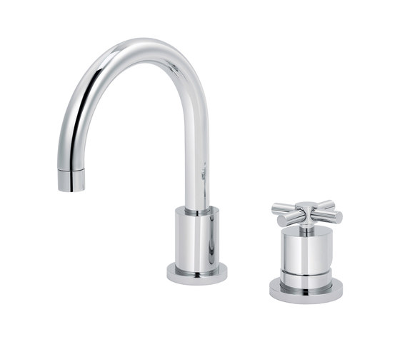 Sully   2-hole single-lever sink mixer by rvb   Wash basin taps