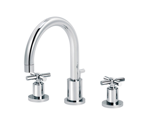 Sully | 3-hole sink mixer by rvb | Wash basin taps