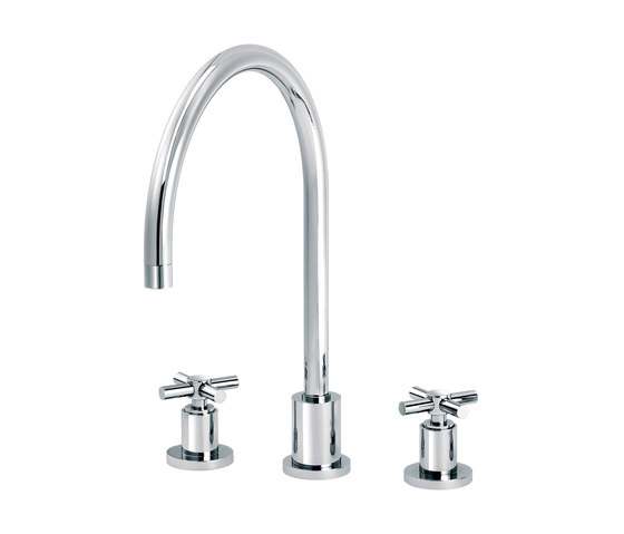 Sully | 3-hole kitchen mixer by rvb | Kitchen taps