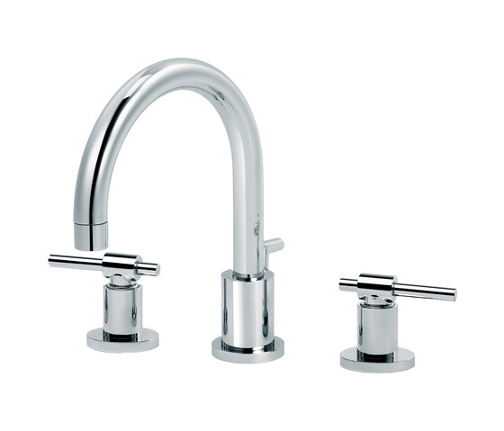 Dynamic | 3-hole sink mixer, great spout by rvb | Wash basin taps