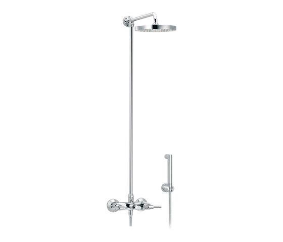 Dynamic | Set shower mixer, Ø200mm and handshower by rvb | Shower controls