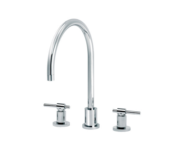 Dynamic | 3-hole kitchen mixer by rvb | Wash basin taps