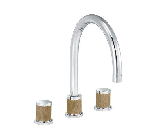 Flamant Docks | 3-hole kitchen mixer by rvb | Kitchen taps