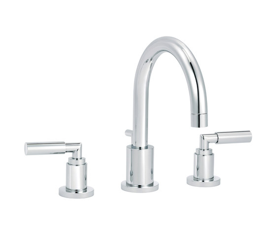 Cliff | 3-hole sink mixer, with waste by rvb | Wash basin taps
