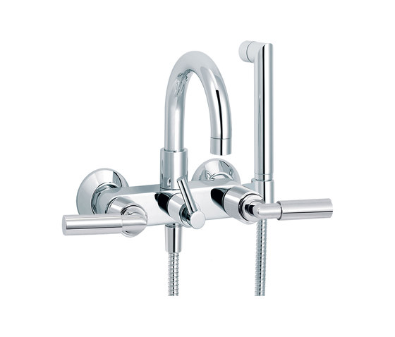 Cliff | Bath-shower mixer by rvb | Bath taps