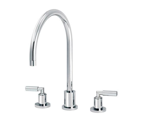 Cliff | 3-hole kitchen mixer by rvb | Kitchen taps