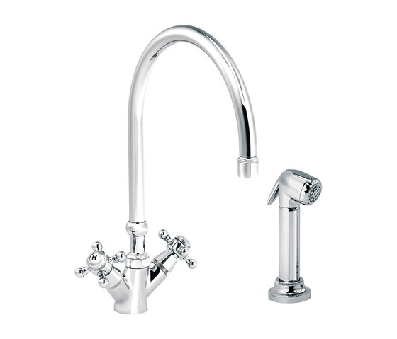 1920-1921 | Kitchen mixer, handshower, great spout by rvb | Kitchen taps