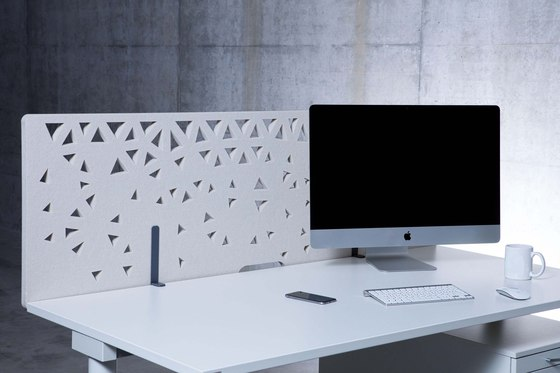 Raumakustik | Akustik Tischrückwände by Kim Stahlmöbel | Table accessories