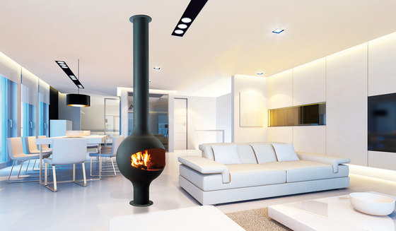Bathycafocus by Focus | Wood fireplaces