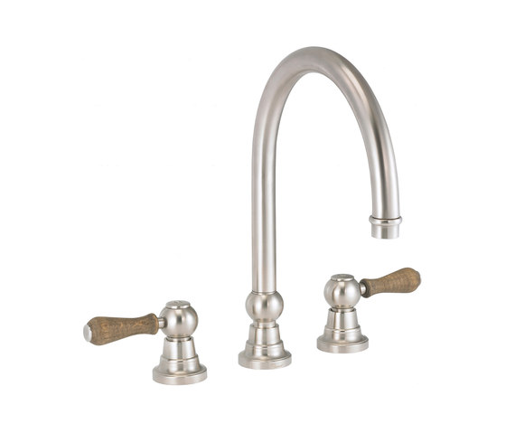 Flamant Butler | 3-hole kitchen mixer, great spout by rvb | Kitchen taps