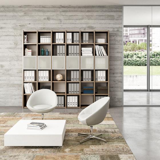 Libreria by Quadrifoglio Group   Shelving