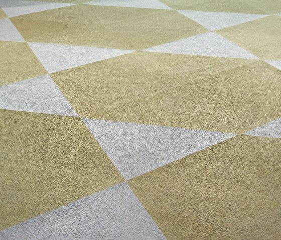 Rollerwool Trigon by Ruckstuhl | Carpet tiles