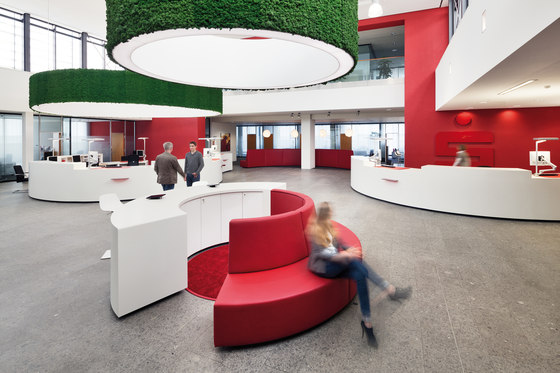 Moosgreen Flexible by Freund | Sound absorbing suspended panels