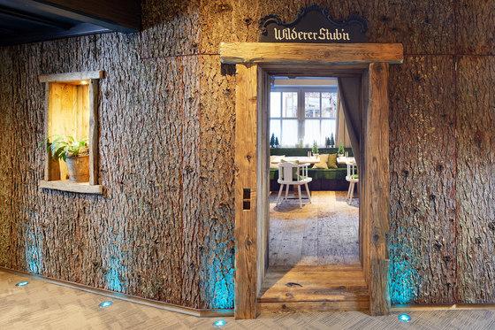 Larch bark by Freund | Wood panels
