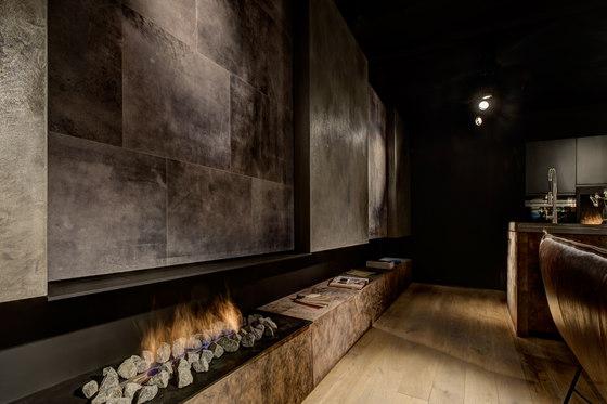 Leather wall de Freund | Revestimientos de paredes / papeles pintados