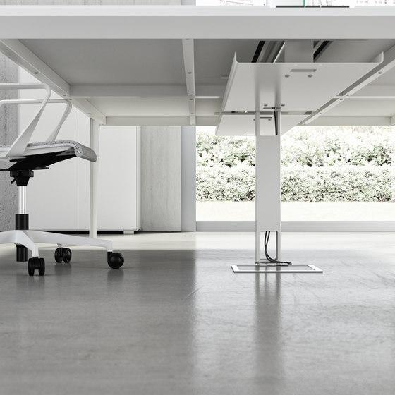 Système de câblage de Quadrifoglio Group | Accessoires de table