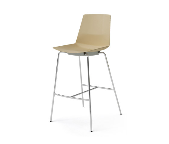Clue by Quadrifoglio Group | Bar stools