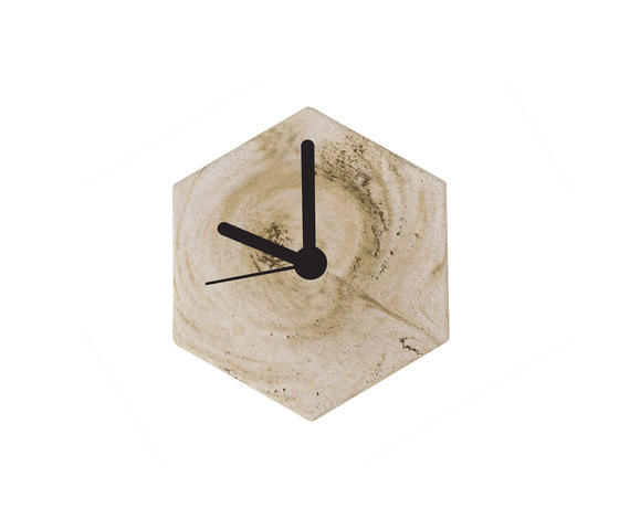 MonoClock   Concrete Light Grey de Valence Design   Relojes