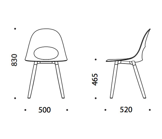 Say O Basic - Wood by Say O | Chairs