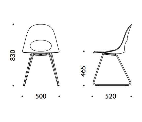 Say O Mini Lux by Say O | Chairs