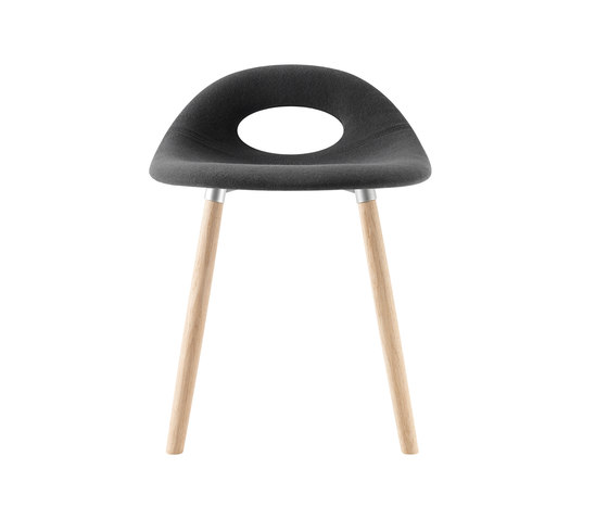 Say O Bar Stool - Wood by Say O | Poufs