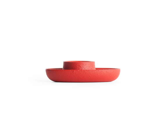 Aye Aye! Candle holder, Achtung red by EMKO   Candlesticks / Candleholder