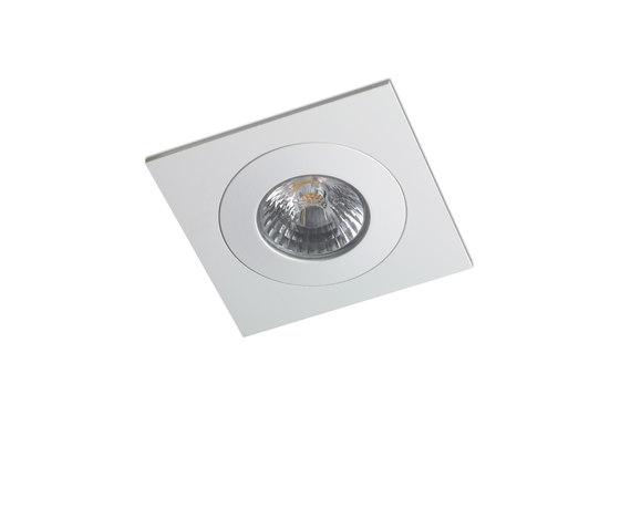 DUO SQUARE 1X COB LED de Orbit   Plafonniers encastrés