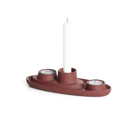 Aye Aye! Candle holder, Open the wine red by EMKO   Candlesticks / Candleholder