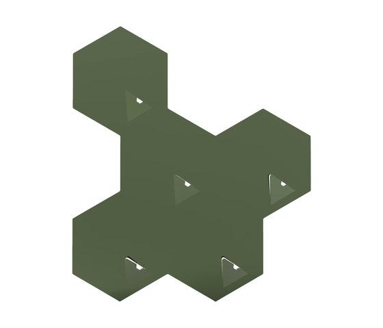 PentaHook | Olive Green by Valence Design | Hook rails