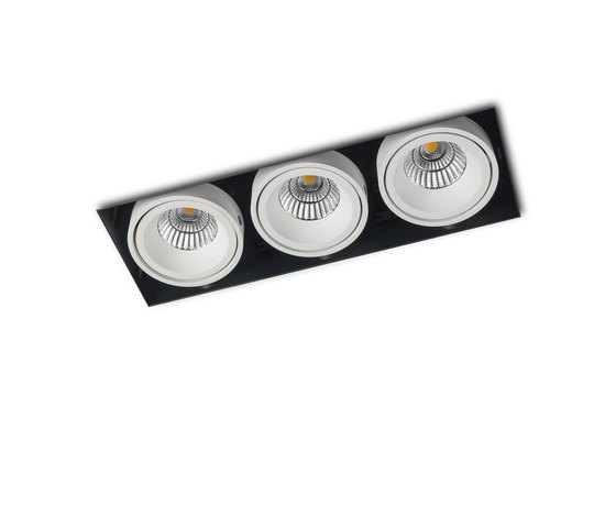 PICCOLO NO FRAME 3X CONE COB LED by Orbit | Recessed ceiling lights