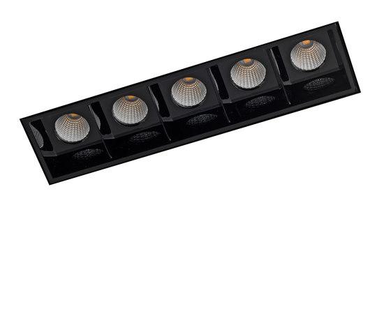 RITHM NO FRAME 5X COB LED di Orbit | Lampade soffitto incasso
