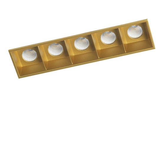 RITHM NO FRAME 5X COB LED de Orbit | Plafonniers encastrés